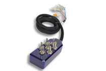 AVS ARC-7 Switch Toggle Series Blue Switch Box