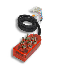 AVS ARC-7 Switch Toggle Series Red