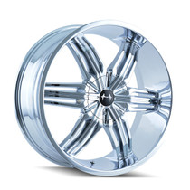 Mazzi 792 Rush Chrome 22x9.5 5-114.3/5-120 35mm 74.1mm