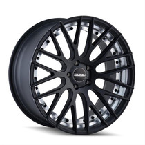Touren 3230 Matte Black/Machined Undercut 18X9 5-120 25mm 74.1mm