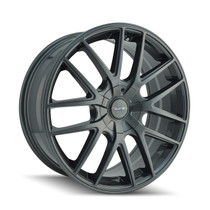 Touren 3260 Gunmetal 16X7 4-108/5-108 42mm 72.62mm