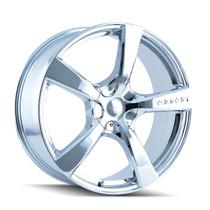 Touren 3190 Chrome 17X7 5-127 42mm 72.62mm