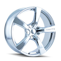 Touren 3190 Chrome 20X8.5 5-112/5-115 40mm 72.62mm