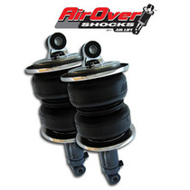 Short Bellow AirOverTM Shock Pair