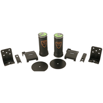 AirOverLeaf 2000lb Under Frame 2 Inch Leaf Bracket Kit full kit