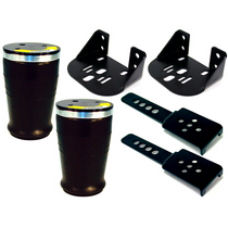 AirOverLeaf 3000lb Side Frame 2.5 Inch Leaf Bracket Kit