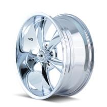 Ridler 695 Chrome 22X10.5 5-127 0mm 83.82mm