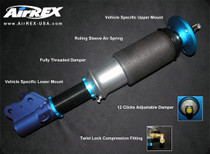 13-14 Acura ILX AirREX Complete Air Suspension System