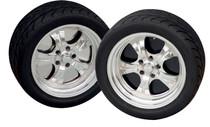 "16"" Wheelplate Blk. Powdercoat (set of 4)"