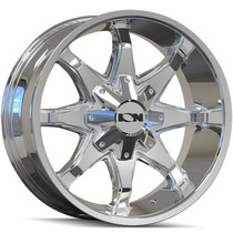 ION 181 Chrome 18x9 8x165.1/170 18mm 130.8