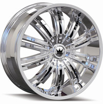 Mazzi 363 Swank Chrome 22x9.5 5-115/120 +18mm 74.1