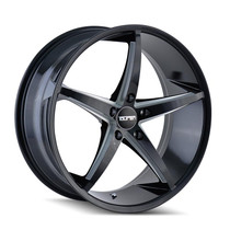 Touren TR70 Black Milled Spokes 18x8 5-120 +20mm 74.1