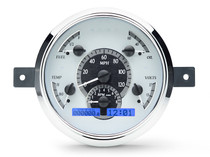 1949-50 Ford Car VHX Instruments silver and blue