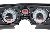 1969 Chevy Chevelle/El Camino VHX Instruments w/ Digital Clock