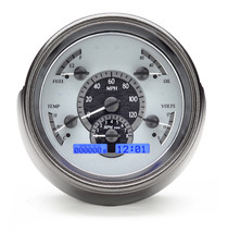 1951 Ford Car VHX Instruments silver and blue