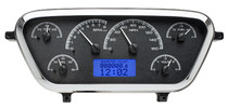 1953-55 Ford Pickup VHX Instruments black and blue