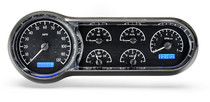 53-54 Chevy Car VHX Instruments black and blue