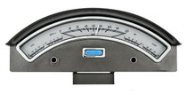 1957 Ford Car VHX Instruments silver and blue