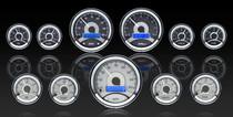 Universal 5 Gauge Round,  Analog VHX Instruments ( 6 gauge round / 5 guage round)