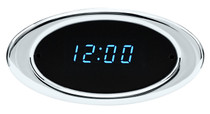 Ion Series Digital Clock Chrome
