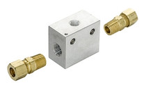 Inline Transmission Temperature Sender Block - 5/16