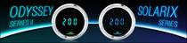 Odyssey II Series Round 3-3/8 Inch Performance Speedometer