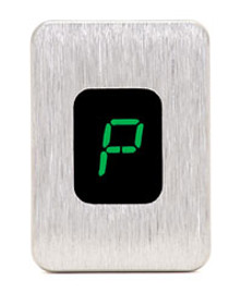 Alpha-Numeric LED Gear Indicator in Green