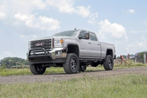 5IN GM NTD Suspension Lift Kit (11-19 Silverado/Sierra 2500/3500HD) side view