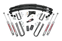 4in Ford Suspension Lift Kit (86-98 F350 4WD)