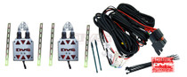 AVS Shaved Door Kit Universal w/Pre-Wired Relays & Wiring Pack