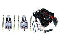 Shaved Door Kit Universal w/Pre-Wired Relays & Wiring Pack