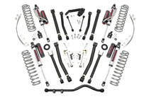 4in Jeep X-series Suspension Lift Kit (07-18 JK Wrangler Unlimited) with Vertex Reservoir