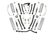 4in Jeep X-series Suspension Lift Kit (07-18 JK Wrangler Unlimited) with Premium N3 Shocks