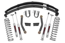 3in Jeep Suspension Lift (84-01 Cherokee XJ) with Leaf Springs Upgrade +$280.00