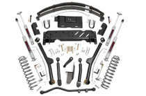 4.5in Jeep Long Arm Suspension Lift Kit (84-01 XJ Cherokee) with added Leaf Springs