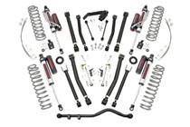 4IN Jeep Long Arm Suspension Lift Kit (07-18 Wrangler JK ) Upgraded with Vertex Reservoir Shocks
