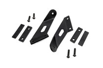 Jeep 20 Inch Dual Or Single Row LED Hood Mounts (07-18 Wrangler JK)