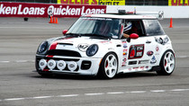 2002-2008 Mini Cooper (R50/52/53 Air Lift Kit with Manual Air Management- Front/Side View In Action