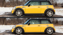 2007-2015 Mini Cooper (R50/52/53) Air Lift Kit with Manual Air Management - up and down