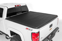 16-17 Toyota Tacoma 5' Bed w/Cargo Mgmt Soft Tri-Fold Bed Cover