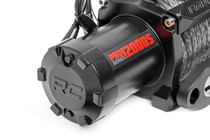 9500LB Pro Series Electric Winch / Synthetic Rope Series Wound Motor