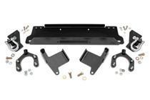 07-18 Jeep JK Wrangler/ Unlimited Winch Mounting Plate w/D-Rings