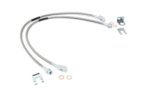 87-95 Jeep YJ Wrangler 4WD Extended Front Brake Lines