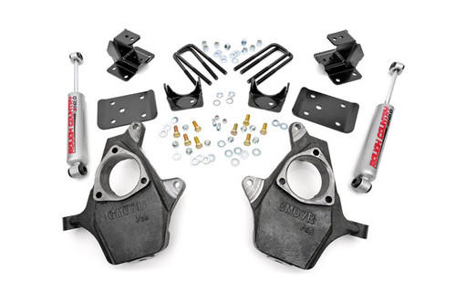 2IN/4IN - 99-06 Chevy/GM Lowering Kit