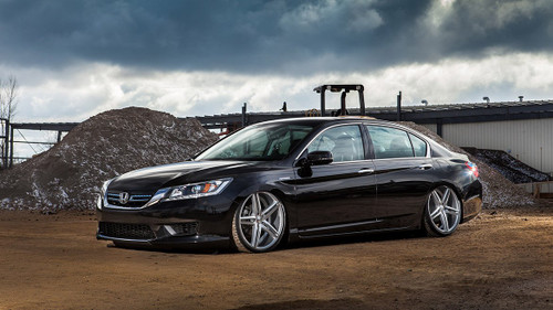 13-17 Honda Accord/15-19 Acura TLX Air Lift Kit with Manual Air Management- Front/Side View