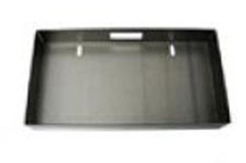 Weld-in license plate box with light. Relocate the license to the tailgate or roll pan on any truck.