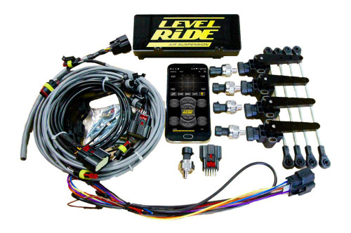 Level Ride LRH+P4C air suspension