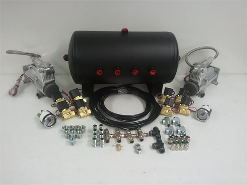 """Get It Right 4 Way 1/2"""" Air Management Kit"""