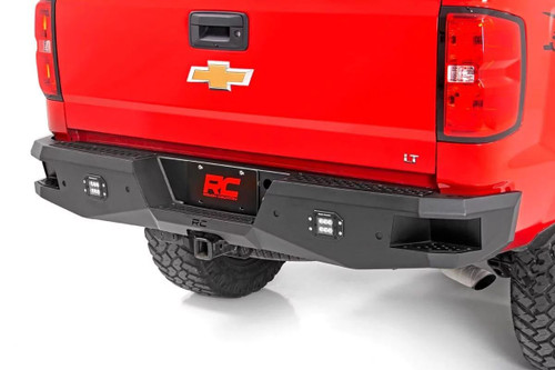Chevy Heavy-Duty Rear LED Bumper (07-18 Chevy Silverado 1500)