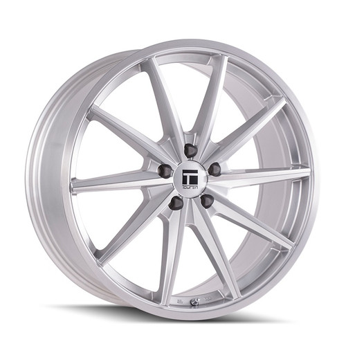 Touren TR02 Brushed Silver 20x10 5-114.3 40mm 72.6mm